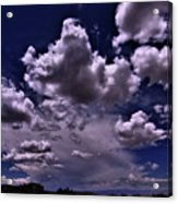 Looking West From Golden   Acrylic Print