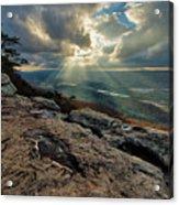 Lookout Mountain Sunset Acrylic Print