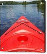 Loon Lake Reverie Acrylic Print