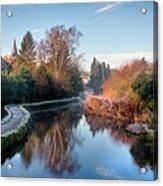 Loose Mill Pond Acrylic Print