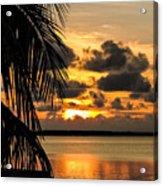Lopez Point Sunset Acrylic Print