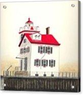 Lorain Lighthouse Acrylic Print