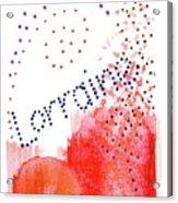 Lorainne 2 Acrylic Print