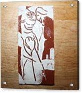 Lord Bless Me 2 - Tile Acrylic Print
