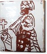 Lord Bless Me 21 - Tile Acrylic Print