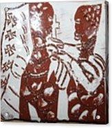 Lord Bless Me 3 - Tile Acrylic Print