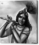 Lord Krishna Acrylic Print