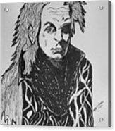 Lord Vampire Acrylic Print