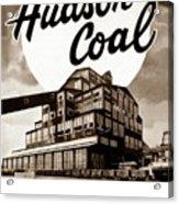 Loree Colliery Larksville Pa. Hudson Coal Co  Acrylic Print