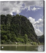Loreley Rock 10 Acrylic Print