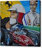 Lorenzo E Ferrari. La Passione Del Tifosi Acrylic Print