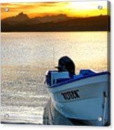 Loreto Panga At Sunset Acrylic Print