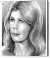 Loretta Swit Acrylic Print