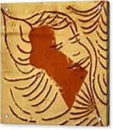 Lornah- Tile Acrylic Print
