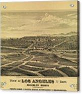 Los Angeles 1877 Acrylic Print