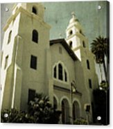 Beverly Hills Church Acrylic Print
