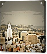 Los Angeles City Hall Acrylic Print