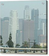 Los Angeles County Acrylic Print