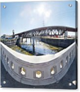 Los Angeles River Washington Avenue Bridge South Acrylic Print
