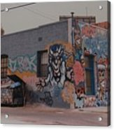 Los Angeles Urban Art Acrylic Print