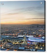 Los Angeles West View Acrylic Print
