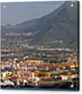 Los Gigantes Panorama 1 Acrylic Print