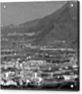 Los Gigantes Panorama 3 Acrylic Print