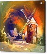 Los Molinos Del Quijote 01 Acrylic Print