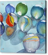 Lose Your Marbles 2 Acrylic Print