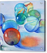 Lose Your Marbles Acrylic Print