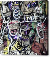 Losing Face Value Acrylic Print by Robert Wolverton Jr