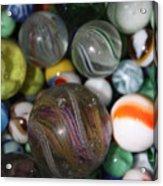 Losing My Marbles Acrylic Print