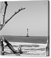 Lost At Sea...morris Island Lighthouse Acrylic Print