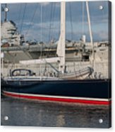 Lost At The Battle Of Midway June 1942 Acrylic Print