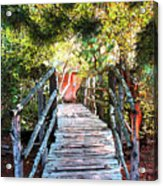 Lost Bridge Acrylic Print