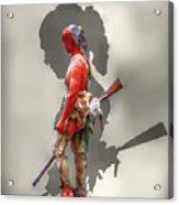 Lost Cause Seneca Warrior Ver 2 Acrylic Print by Randy Steele