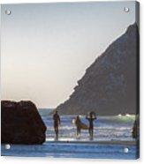Lost Coast Surfers Acrylic Print
