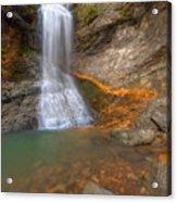 Lost Falls Acrylic Print by Ryan Heffron