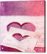 Lost Hearts Acrylic Print