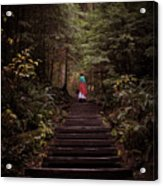 Lost In Nature Acrylic Print