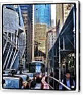 Lost In Reflection. Wandering The Acrylic Print