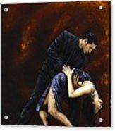 Lost In Tango Acrylic Print