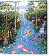 Lost In The Amazon Acrylic Print