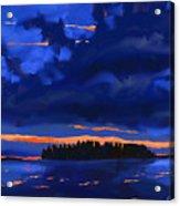 Lost Island Acrylic Print