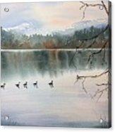 Lost Lagoon Evening Acrylic Print