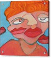Lost Lips Acrylic Print