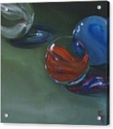 Lost Marbles No. 2 Acrylic Print