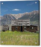 Lost River Range Cabin Acrylic Print
