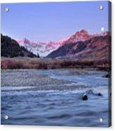 Lost River Range Acrylic Print