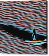 Lost Surfer Acrylic Print
